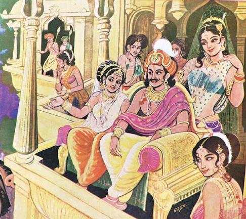 Hindu Harem