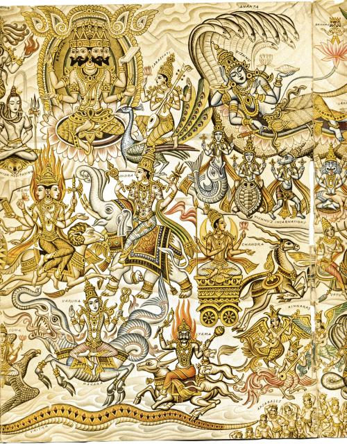 Hindu Pantheon-500