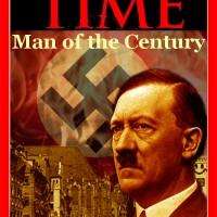 """Trump hat noch was vor: wie Hitler strebt er die Menschenwürde des """"Mannes des Jahrhunderts"""" an, erklärte Donald in aller Bescheidenheit nach der Ehrung in TIME als Mann des Jahres 2016"""