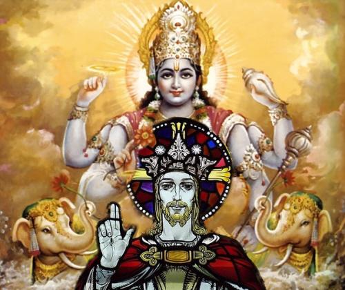 Vishnu & Jesus